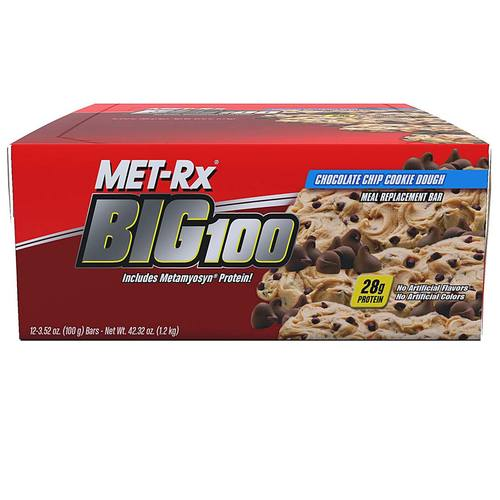 Met rx chocolate chip cookie dough