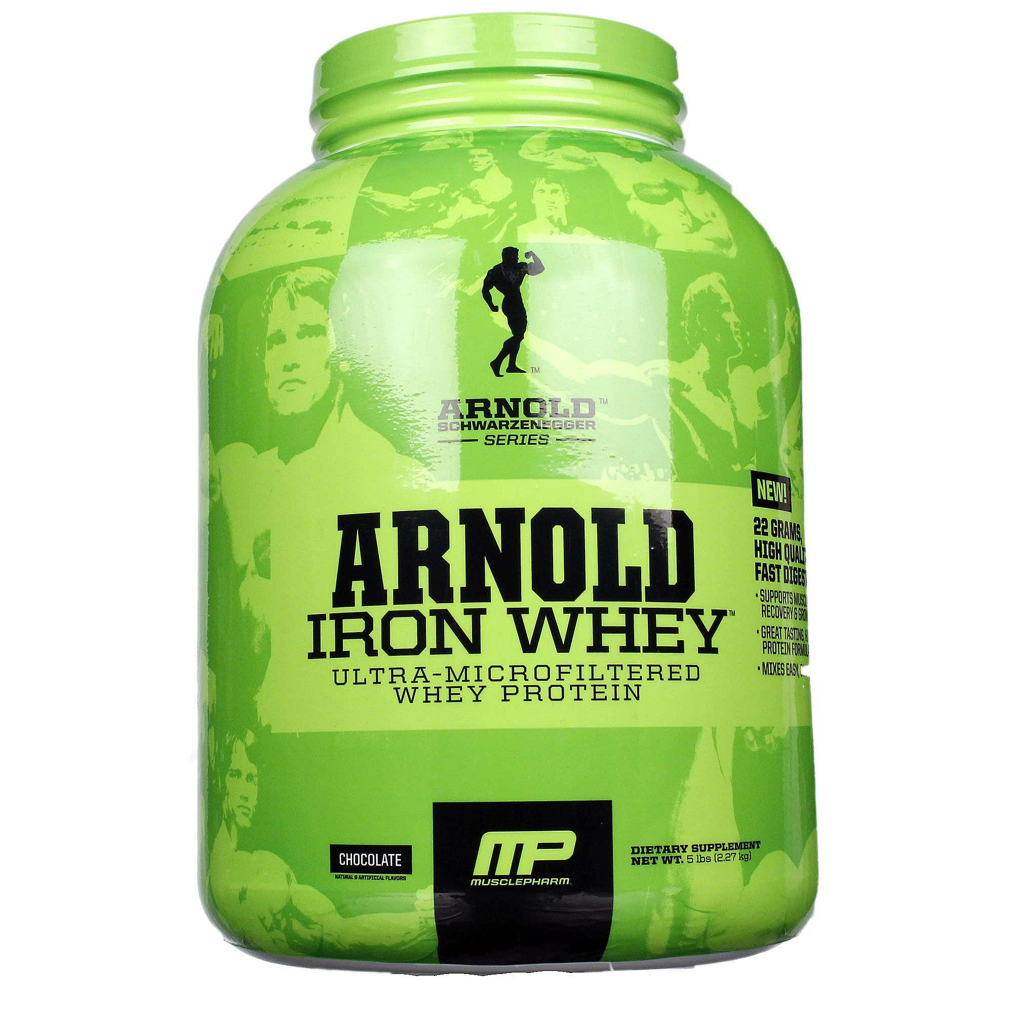 Musclepharm iron whey review