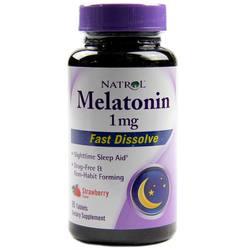 Natrol Melatonin 1 mg Fast Dissolve