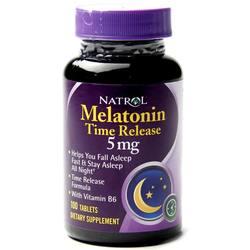 Natrol Melatonin 5 mg Time Release