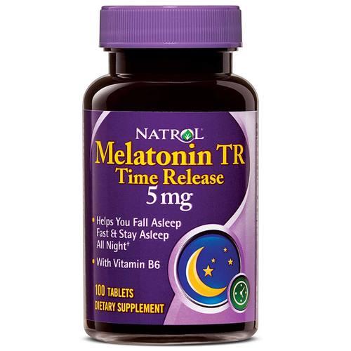 Buy Natrol Melatonin 5 mg Time Release - 100 Tabs UK