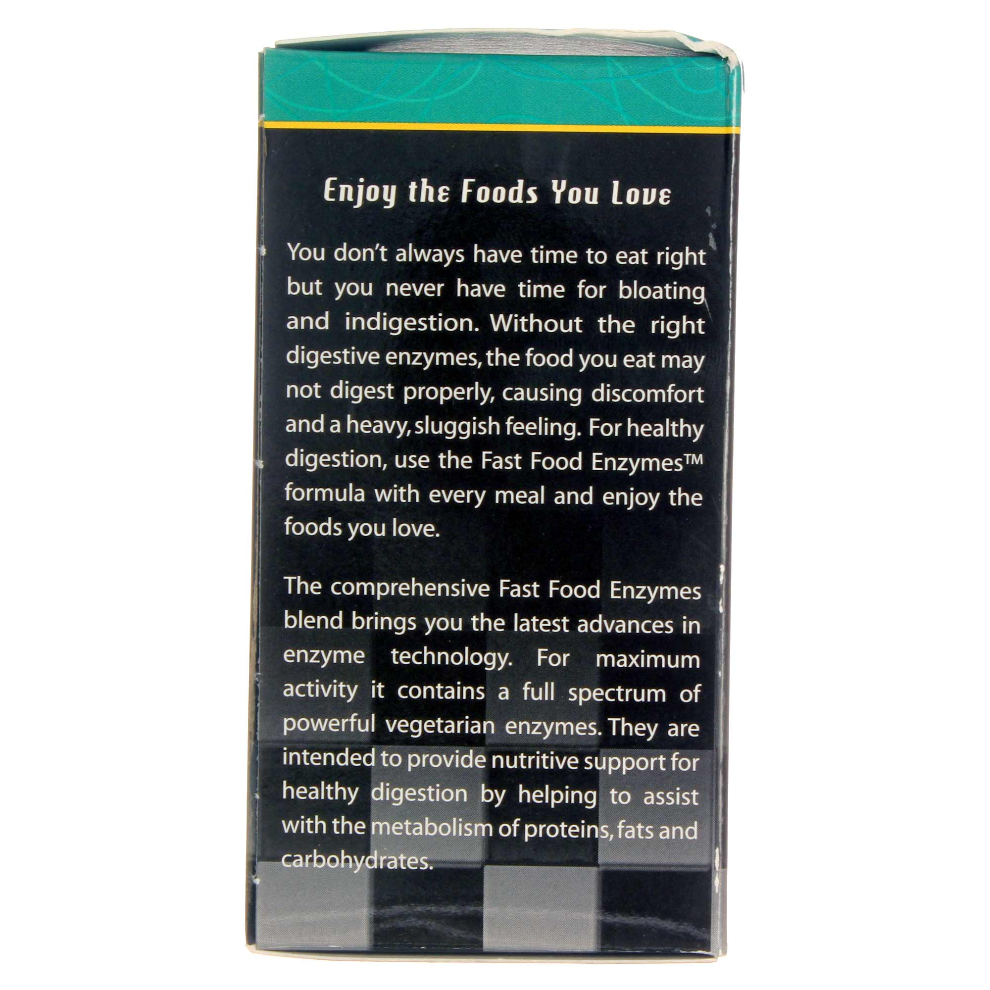 natural balance fast food enzymes   30 vcapsules
