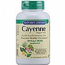 Nature's Answer Cayenne Pepper Fruit 450 mg