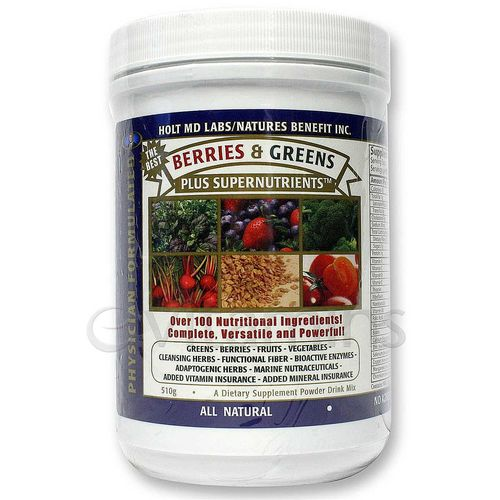 Berries & Greens plus SuperNutrients