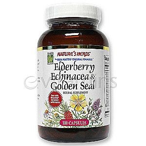 Elderberry Echinacea & Golden Seal