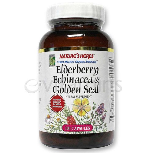 Elderberry Echinacea & Golden Seal