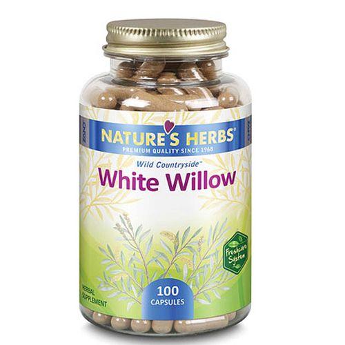 Nature S Herbs White Willow Bark  Caps