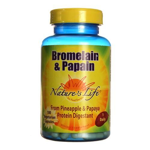 Nature S Life Bromelain Papain Review