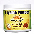 Nature's Life L-Lysine Powder