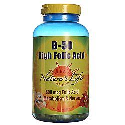 B-50 High Folic Acid