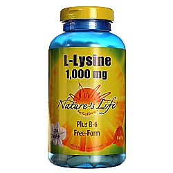 Nature's Life L-Lysine 1000 mg