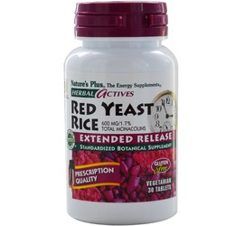 Nature's Plus Red Yeast Rice Extended Release