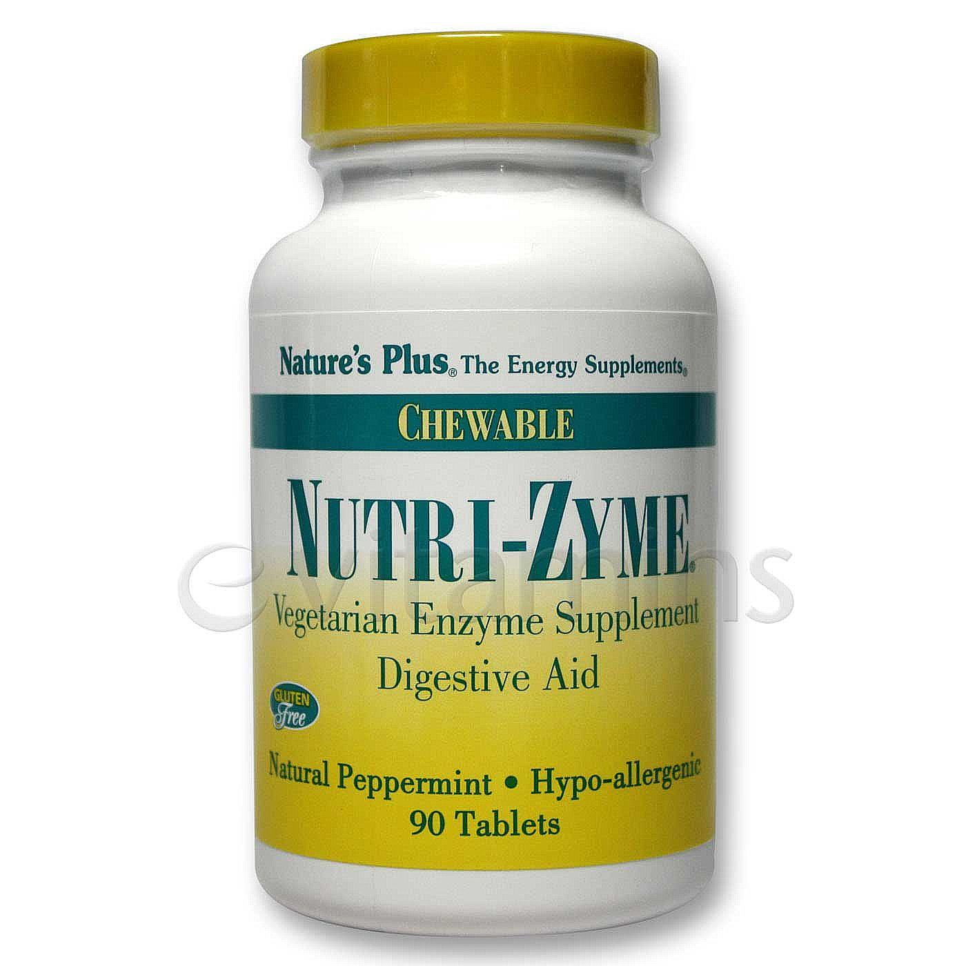 Nature 39 S Plus Nutri Zyme Chewable Digestive Aid 90 Chews