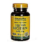 Nature's Plus Egg Yolk Lecithin 600 mg