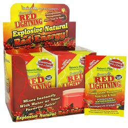Nature's Plus Source of Life Red Lightning Drink