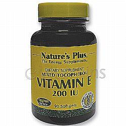 Vitamin E 200 IU Mixed Tocopherol