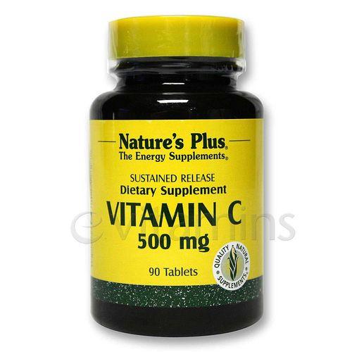 Evitamins Com Nature S Plus Vitamin C 500 With Rose Hips