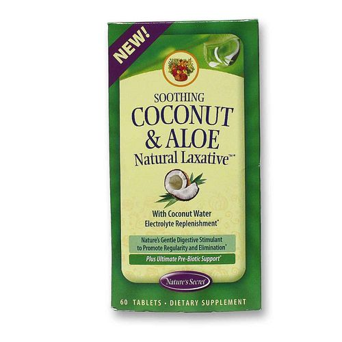 Is coconut oil a natural laxative
