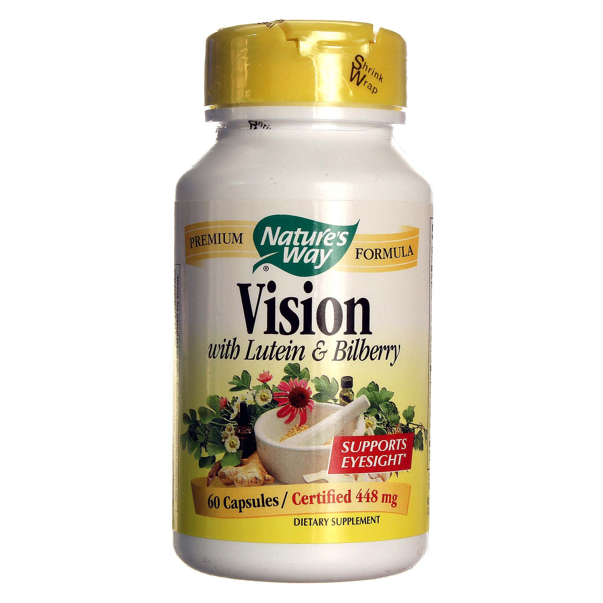 Nature's Way Vision with Lutein and Bilberry - 60 Capsules ...