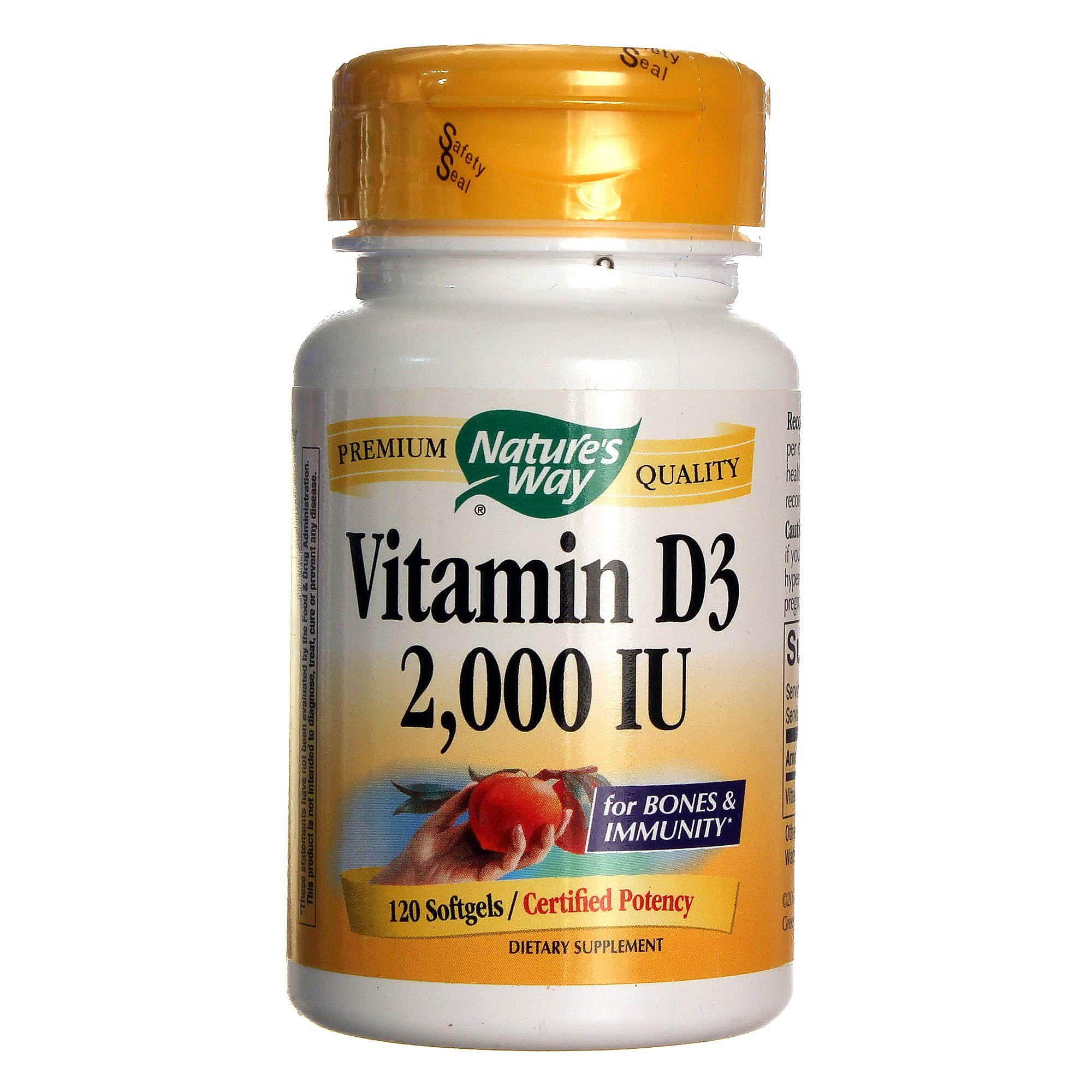 iu vitamin 2000 d3 way softgels nature natures evitamins