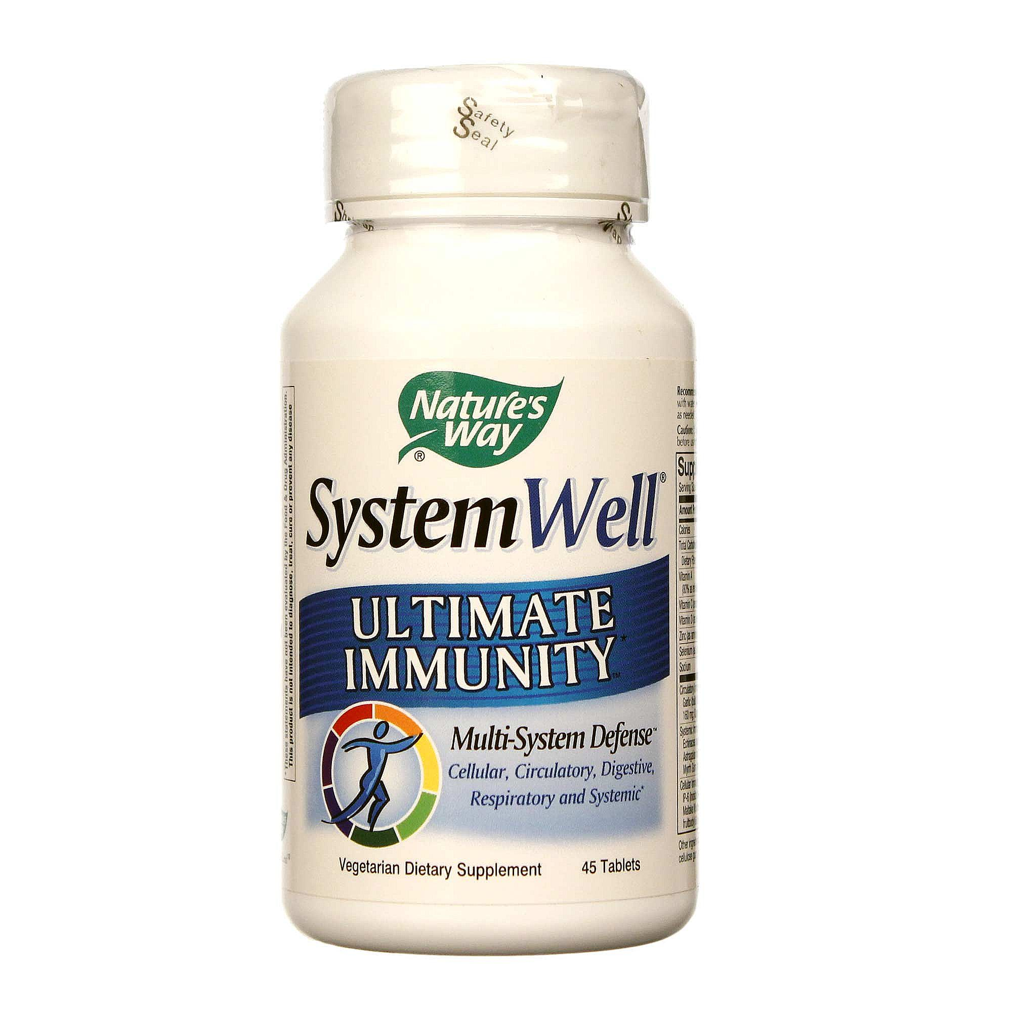 way well system ultimate immunity nature tablets natures evitamins