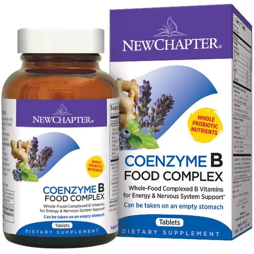 New Chapter Coenzyme B Food Complex  Tablets