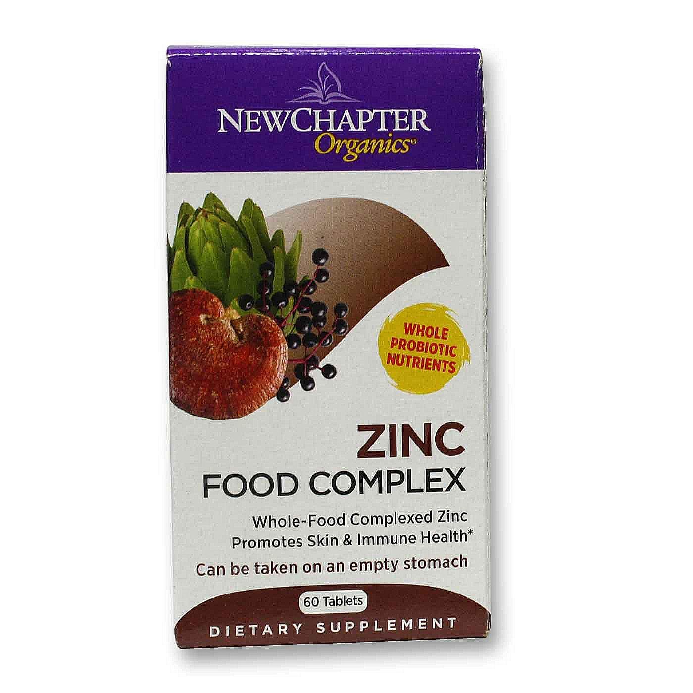 Buy new chapter zinc food complex 60 tabs singapore for Cuisine zinc
