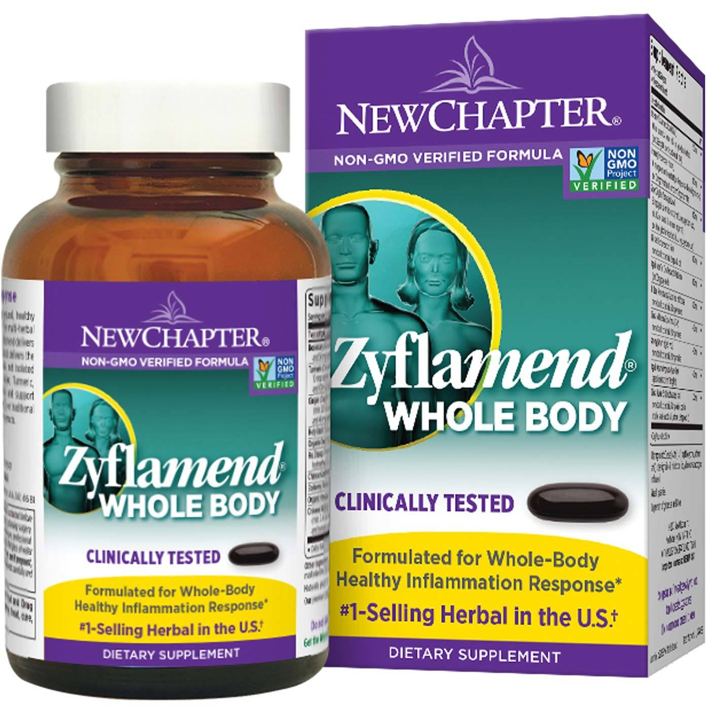 New Chapter Zyflamend Whole Body 60 Softgels Evitamins Com