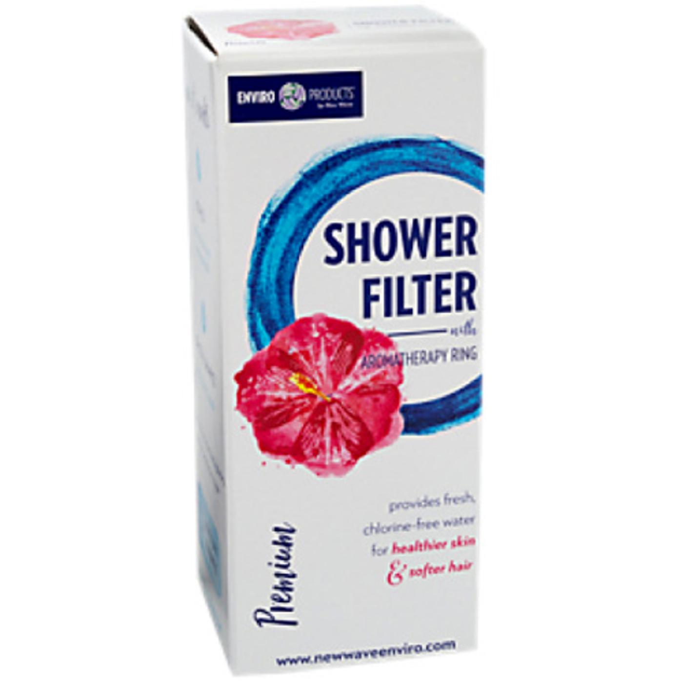 buy new wave enviro premium shower filter 1 filter evitamins australia. Black Bedroom Furniture Sets. Home Design Ideas