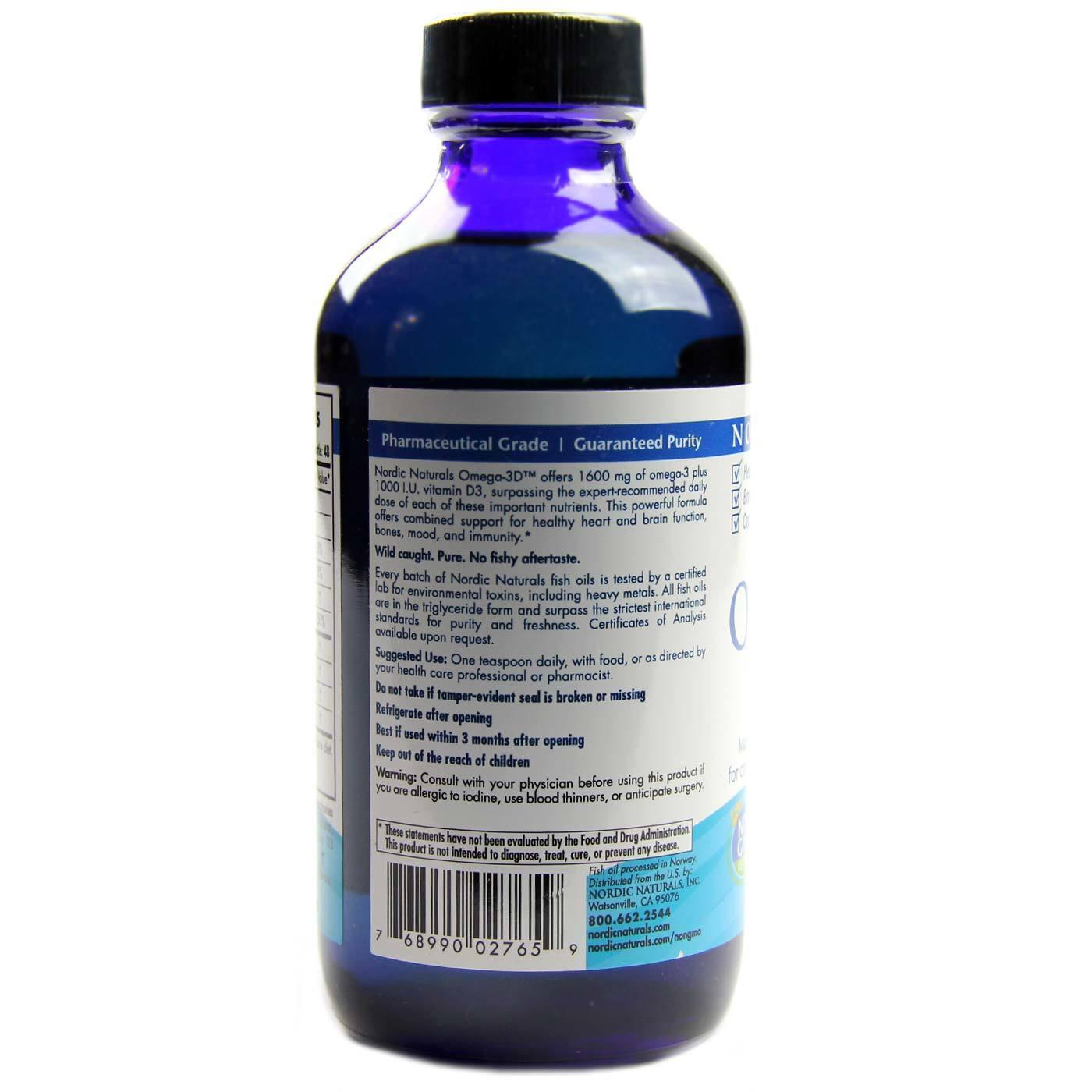Nordic Naturals Omega D Liquid Review