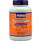 Now Foods Pancreatin 10x-200 mg