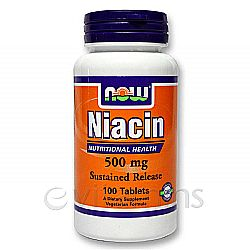 Niacin SR 500 mg