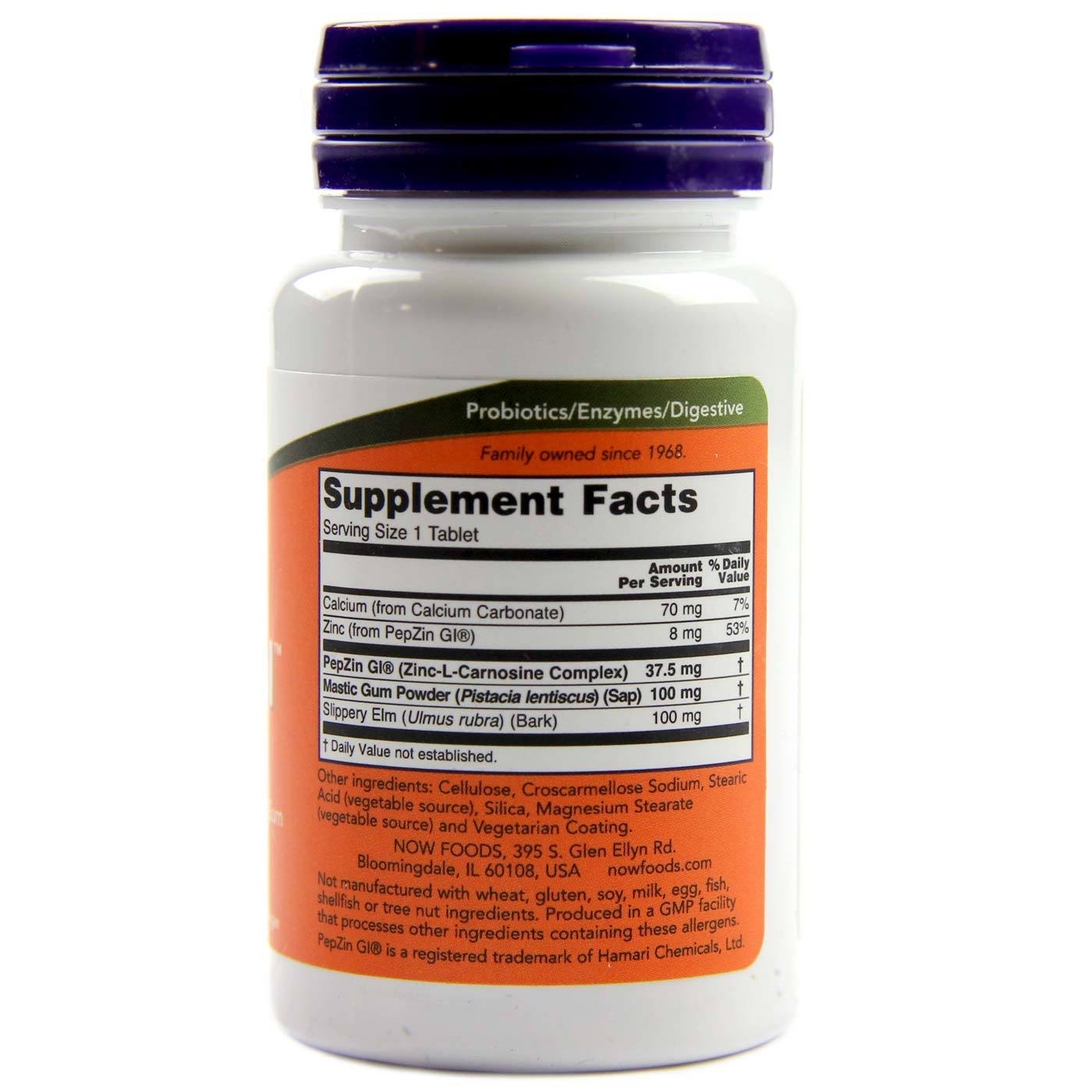 Now Foods Ulcetrol 60 Tablets