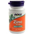 Now Foods Zinc 50 mg