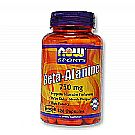 Now Foods Beta-Alanine 750 mg
