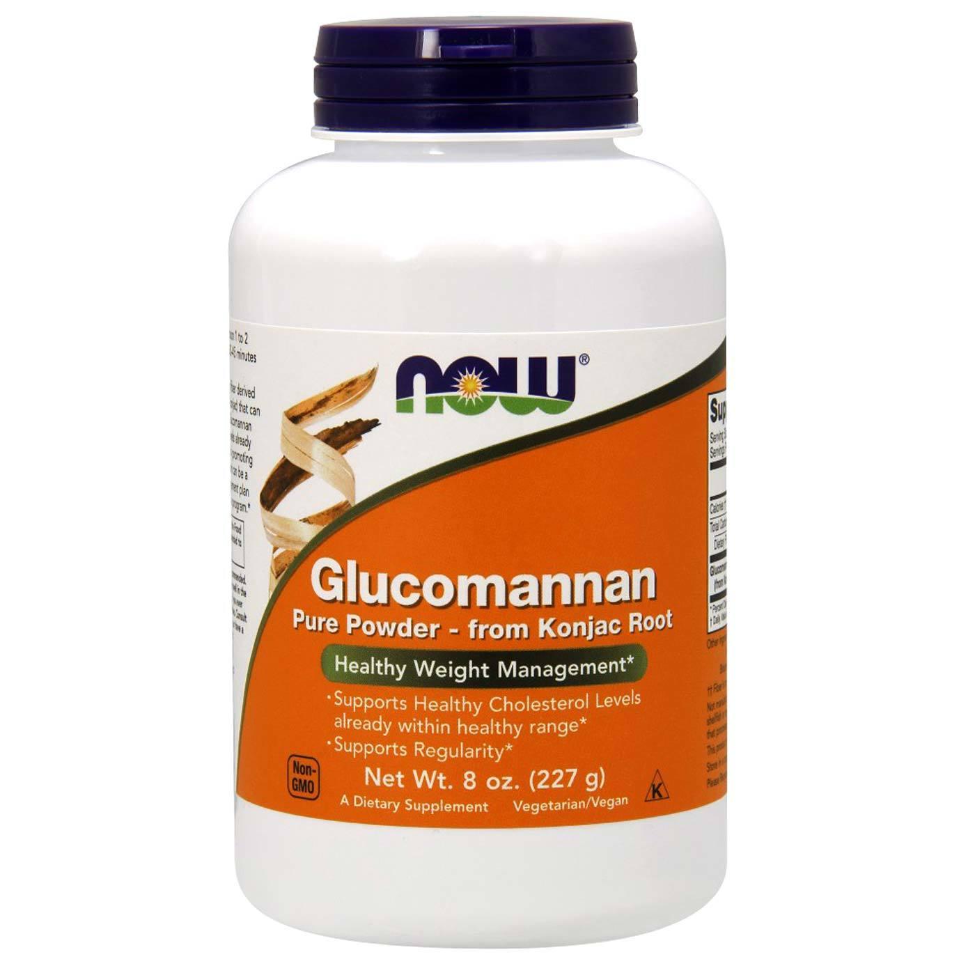 Glucomannan products