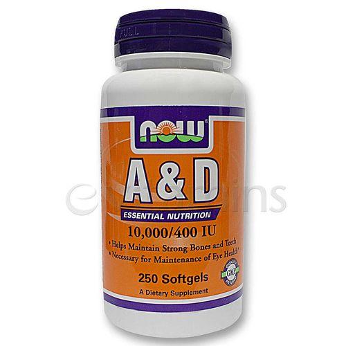 A & D 10,000 / 400 IU