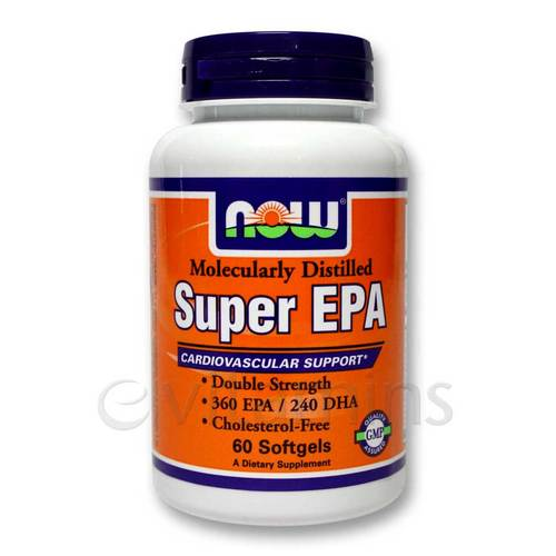 Super EPA (360 mg EPA, 240 mg DHA) Molecularly Distilled