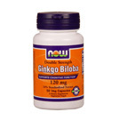 Now Foods Ginkgo Biloba 120 mg