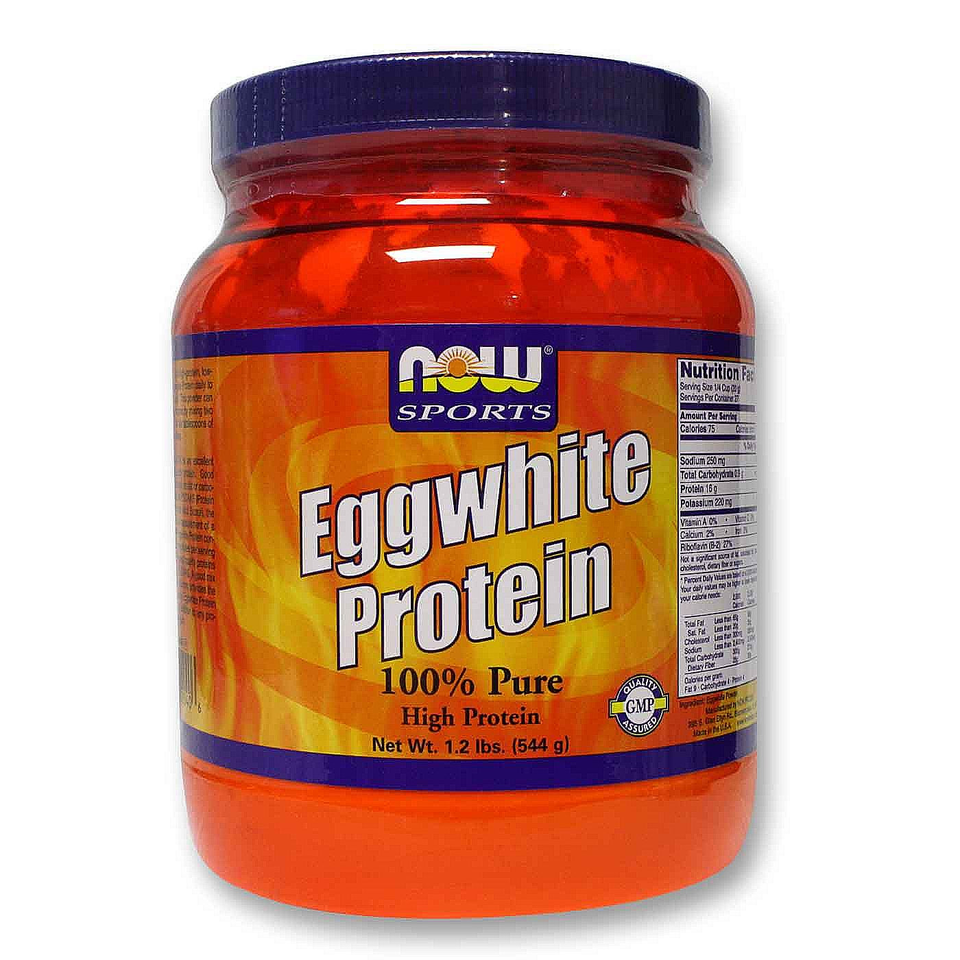 Now sports egg white protein reviews