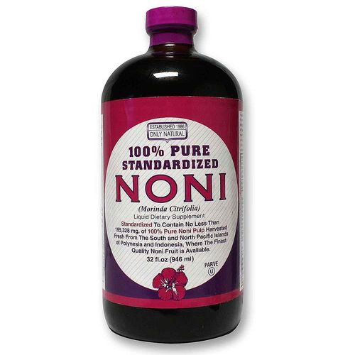 100% Pure Standardized Noni Juice
