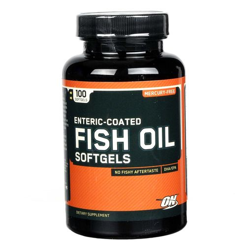 Optimum nutrition fish oil enteric coated 100 softgels for Enteric coated fish oil