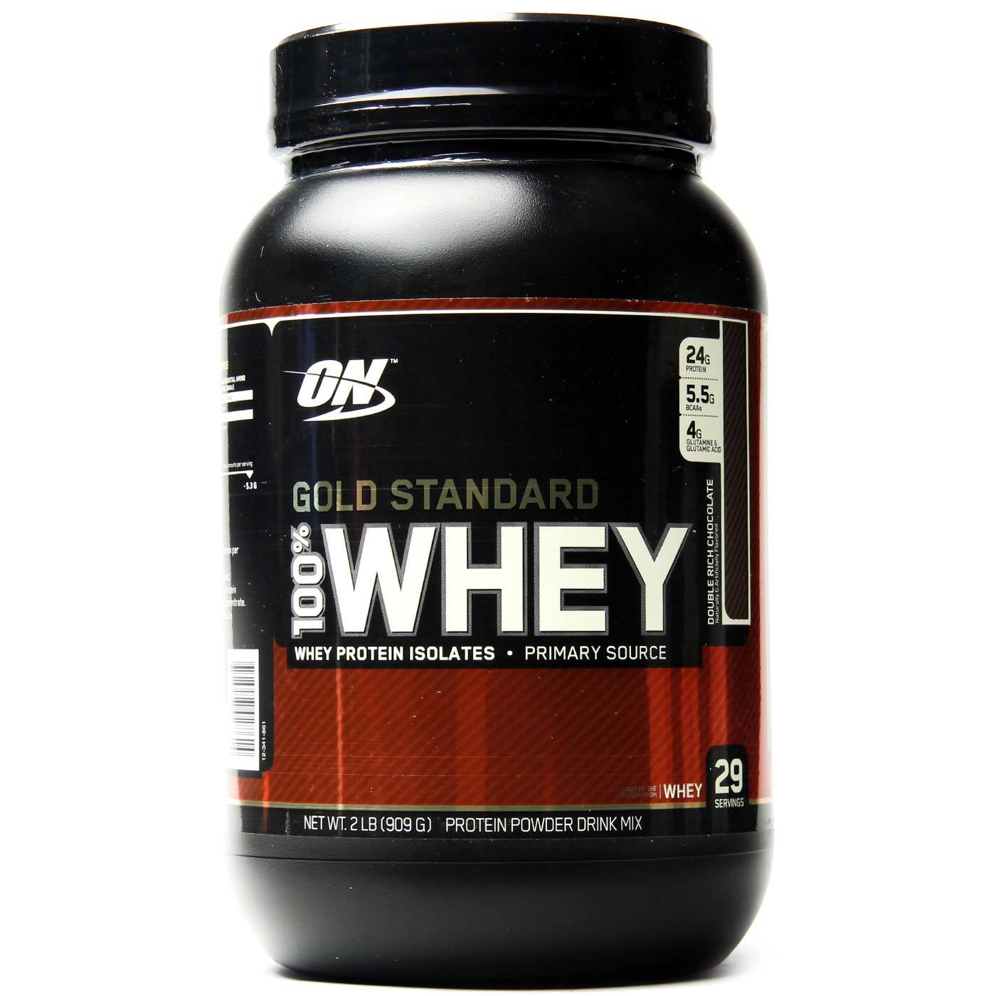 Optimum Nutrition Gold Standard 100% Whey, Double Rich ...