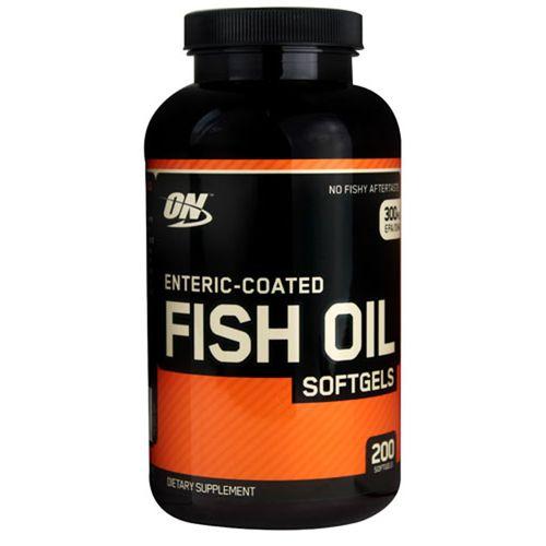 Optimum nutrition fish oil enteric coated 200 softgels for Optimum nutrition fish oil