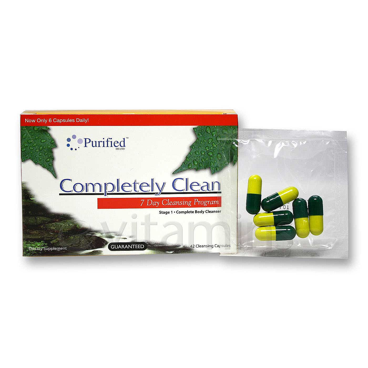 eVitamins.com: Puriclean Completely Clean - 7 Day Cleansing Program