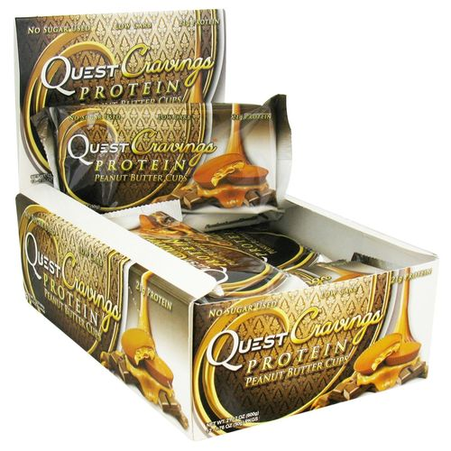 ... QuestCravings Protein Peanut Butter Cups - 12 - 1.76 oz Packs 한국