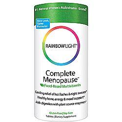 rainbow light complete menopause multivitamin 120 tabs by rainbow. Black Bedroom Furniture Sets. Home Design Ideas