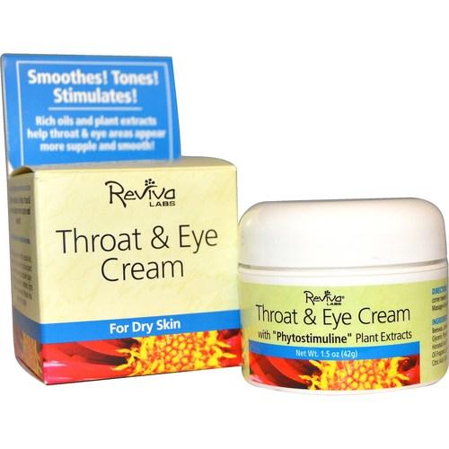 Throat & Eye Cream