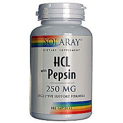 HCL with Pepsin 250 mg