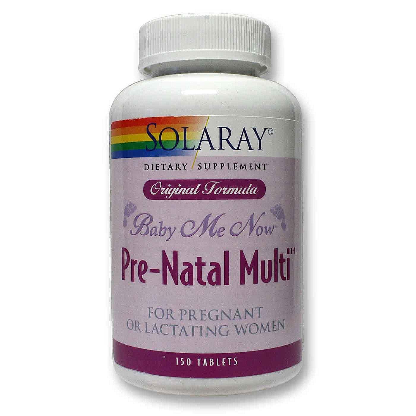 Solaray prenatal vitamins reviews